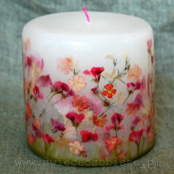 """candle """"Summer garden"""", small"""