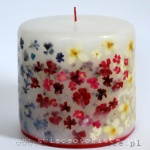 "Candle ""Love"" with verbena and jasmine, small"