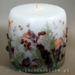 candle of the autumn forest, small