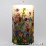 "Candle ""Summer garden"", big"