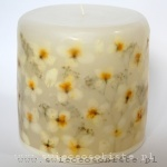 candle with jasmin, small