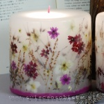 Candle in Japanese style, small