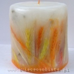 candle with grain, small