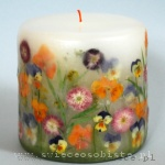 """Candle """"Garden"""", small"""