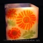 warsztaty tworzenia świec ozdobnych, technika millefiori w świecach