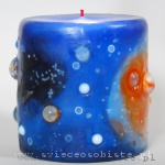 "Candle ""Rosette Nebula"", small"
