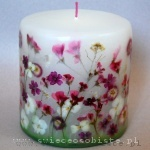 "candle ""Summer garden"", small"