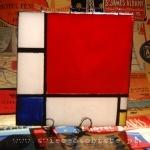 świeca płaska (Piet Mondrian)