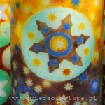 warsztaty tworzenia ozdobnych świec mozaikowych, technika mozaikowa
